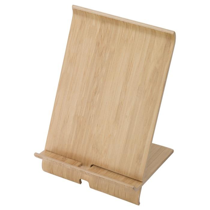 SIGFINN Soporte móvil, chapa de bambú