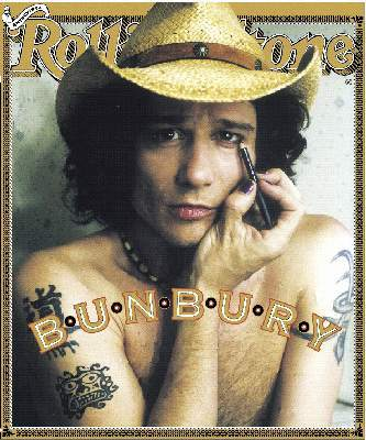 El look de Enrique Bunbury