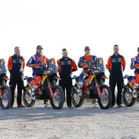 La armada naranja ya está lista: KTM ultima su asalto al Dakar 2018