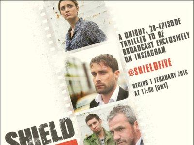 Shield5, la nueva serie de televisión... en Instagram