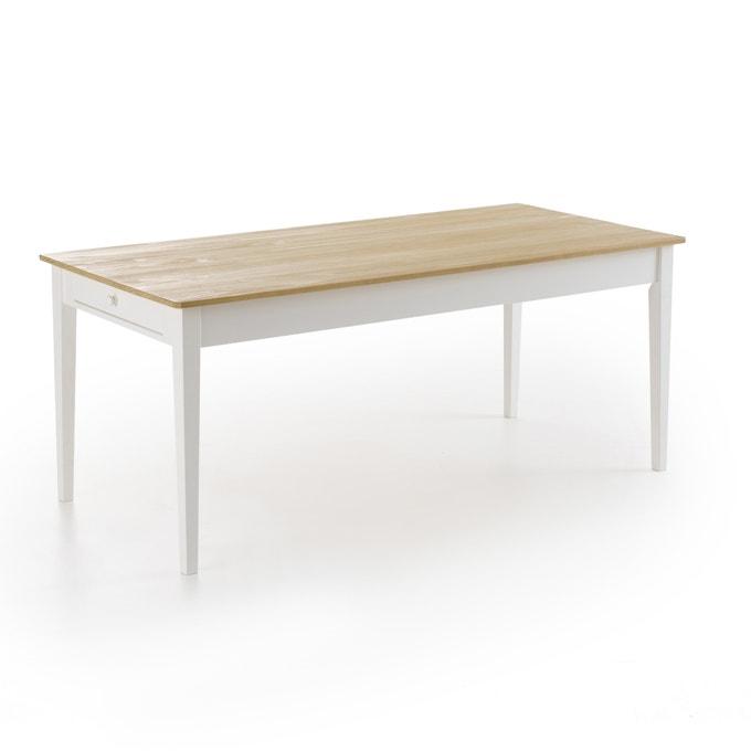 Mesa de comedor de madera de pino