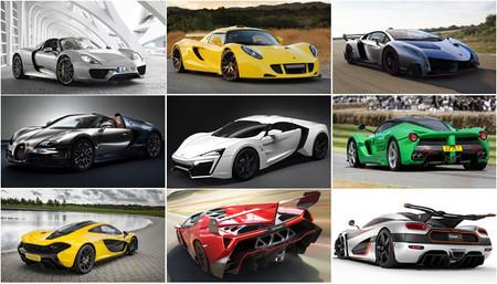 Los nueve coches más caros de 2014