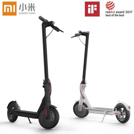 Patinete eléctrico Xiaomi Mi Electric Scooter M365 por 349,99 euros y envío gratis desde España
