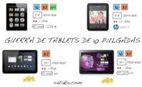 Comparativa de tablets de 10 pulgadas, busca las diferencias