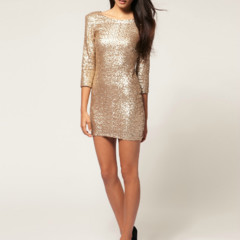 cf35cc098 Ver galería completa » Moda de fiesta Navidad 2011  20 vestidos metalizados  (18 fotos)