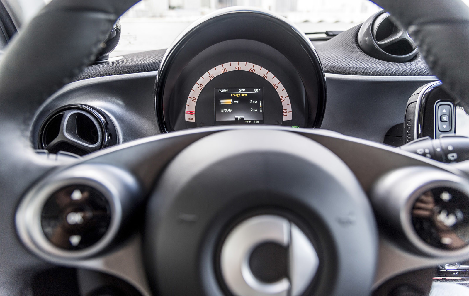 Foto de smart fortwo Electric Drive, toma de contacto (68/313)