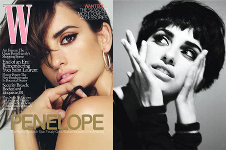 Penelope Cruz en W Magazine