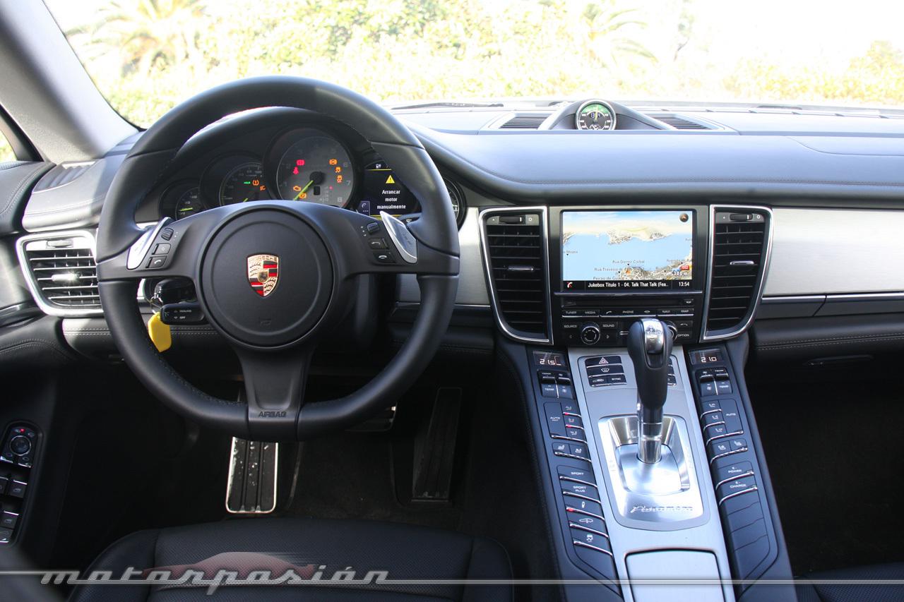 Foto de Porsche Panamera S E-Hybrid (prueba) (27/64)