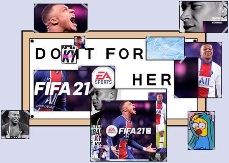 La portada de FIFA 21 tiene defensores, detractores y un buen saco de memes