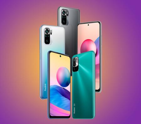 Los Xiaomi Redmi 10S y 10 5G llegan a España: éstos son los precios y disponibilidades de los últimos móviles ganga de Xiaomi