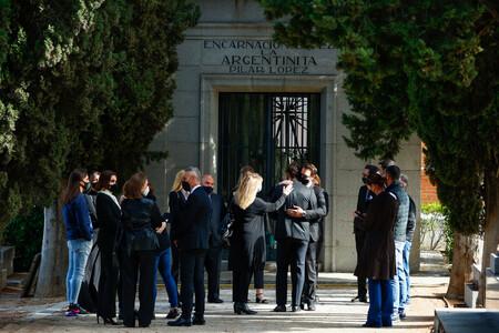 Purificación Aguilar entierro