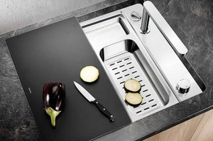 Decoración de cocinas: Fregaderos. Tendencias
