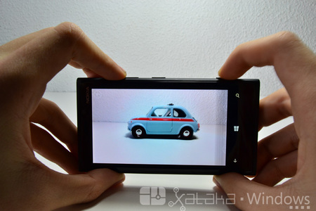 Cámara del Lumia 920