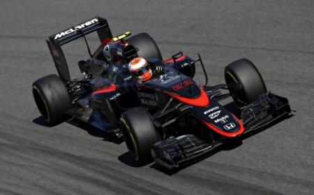 Jenson Button Mclaren Honda 2015