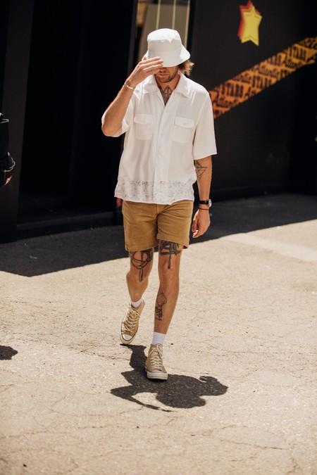 El Mejor Streetstyle De La Semana Pitti Immagien Uomo Camel Looks Spring 202009