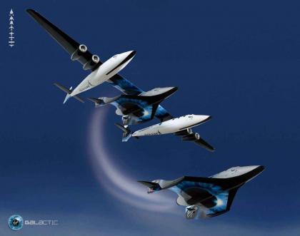 Reservas de viajeros españoles al espacio con Virgin Galactic para el 2009