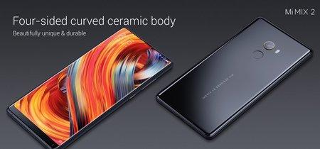 Xiaomi Mi MIX 2: el móvil sin marcos se hace más pequeño