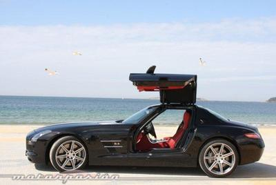 Mercedes-Benz SLS AMG, mejor prueba de 2011 en Motorpasión
