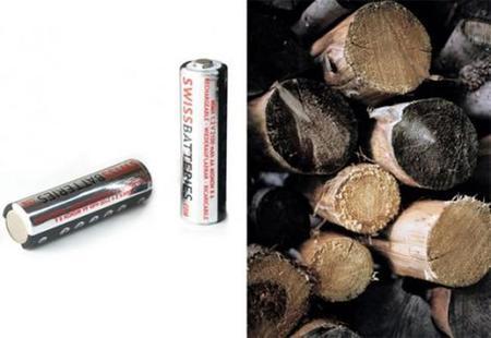 Batería de desechos de la fabricación de papel