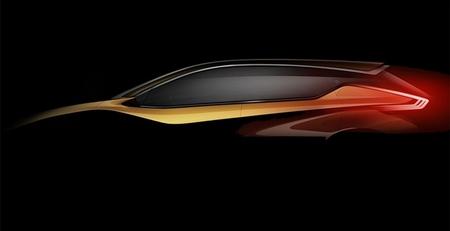 Nissan Resonance Concept: sugiriendo líneas