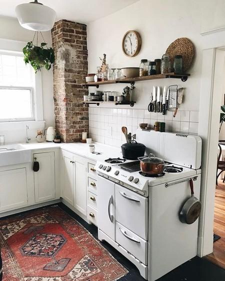 17 ideas para darle un giro vintage a tu cocina sin muchas ...