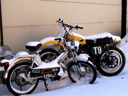 Motos En Invierno