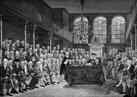 William Pitt The Younger House Of Commons 1793
