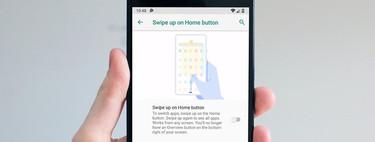 Cómo activar la navegación por gestos en Android P y qué gestos están disponibles