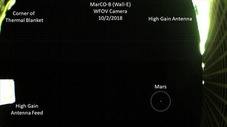 Así es como se ve Marte desde un CubeSat