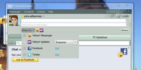 Yahoo Messenger 11 ya disponible, añade interoperabilidad con el chat de Facebook y más