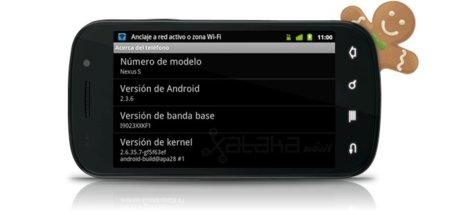 Nexus S de Vodafone con la 2.3.6 y sin el problema del tethering
