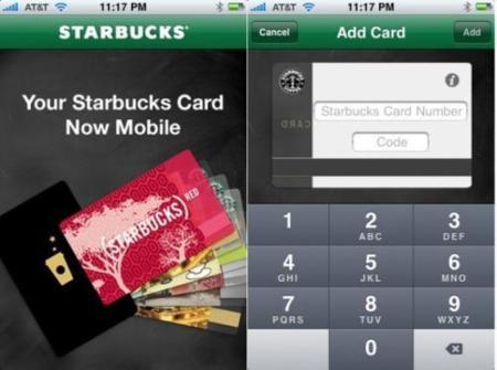 Starbucks Card Mobile, una aplicación para pagar los cafés