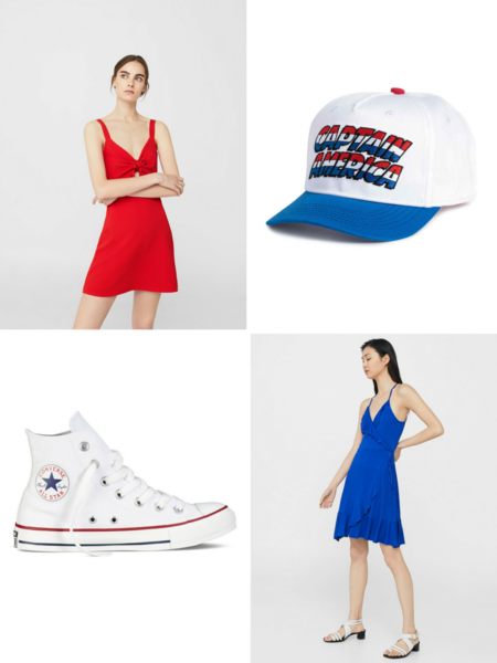 4 julio dia independencia usa america look estilismo outfit influencer