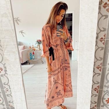Estos vestidos han llegado a las últimas oportunidades de Sandro con 50% de descuento y podrían formar parte del armario cápsula del otoño 2020
