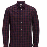 Tras un 37% de descuento la camisa para hombre Jack & Jones Jjegingham L/S Noos puede ser nuestra por 16,95 euros en Dressin