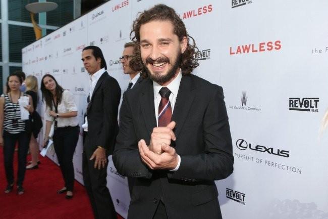 Shia LaBeouf en Cannes el año pasado