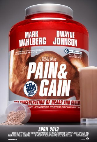 El primer cartel de Pain & Gain