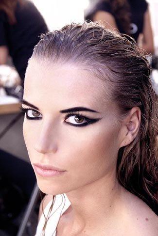 El maquillaje del desfile de Anjara, off Cibeles