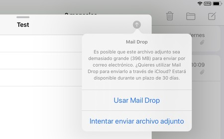 Mail Drop Ipad