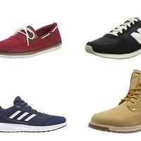 Chollos en tallas sueltas de calzado en Amazon: desde mocasines Clarks a zapatillas Adidas pasando por botas Tom Tailor