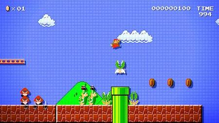 30 minutos de Mario Maker