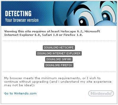 Opera no puede con Nintendo.com