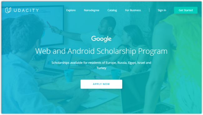 Win A Full Scholarship To Become A Developer Udacity