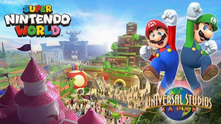 Super Nintendo World será la primera área temática de Nintendo en Universal Studios Japan