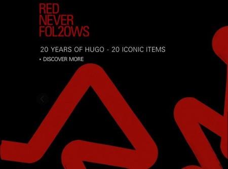 """La colección cápsula """"Red Never Fol20ws"""" de Hugo Boss en su vigésimo aniversario"""