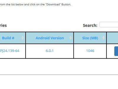 Motorola publica la imágen de fábrica del Moto G4, pero retira las demás