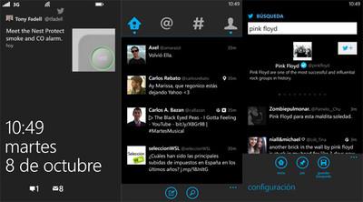 Twitter para Windows Phone se actualiza con un nuevo tema, soporte para la pantalla de bloqueo, y más