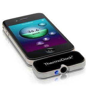 Termómetro para tomar la fiebre en el iPhone