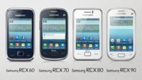 Samsung REX, una nueva familia de télefonos