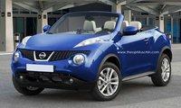 Recreaciones de un hipotético Nissan Juke CrossCabriolet
